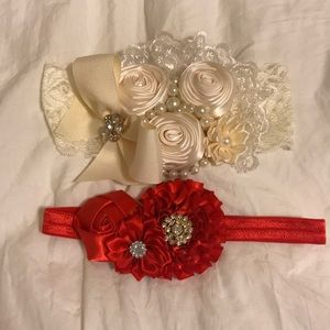 Other - Hair Accessories- 2 baby girl head bands